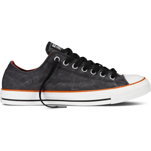 Converse-Chuck-Taylor-All-Stars-Ox-Shoe-Black-Shoes-Washed-Textile-All-Sizes